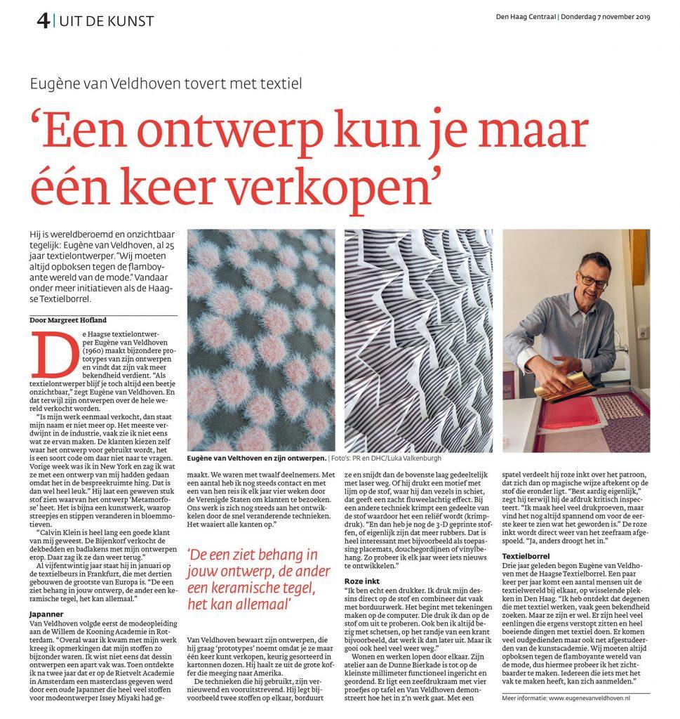 interview November 2019